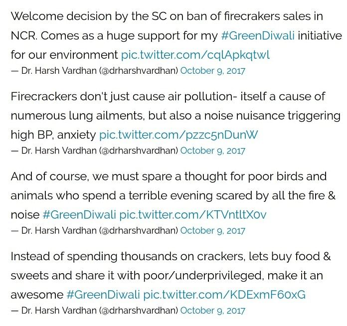 Govt's U-Turn on Green Diwali Campaign Due to Constant Trolling?