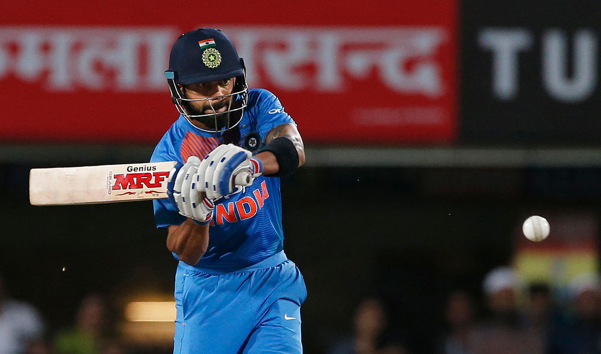 Virat Kohli will be looking to get back amongst the runs in the third T20.
