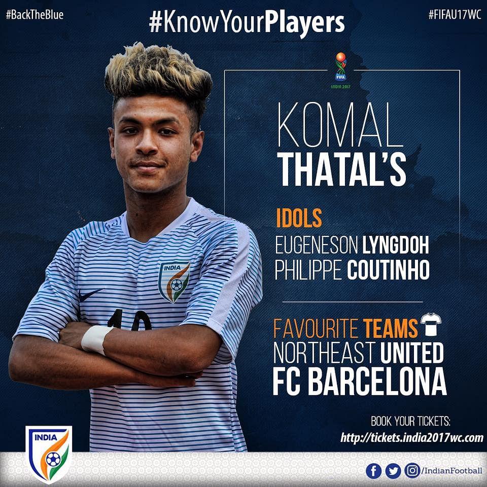 Know Your Under-17 World Cup Stars: Midfielder Komal Thatal
