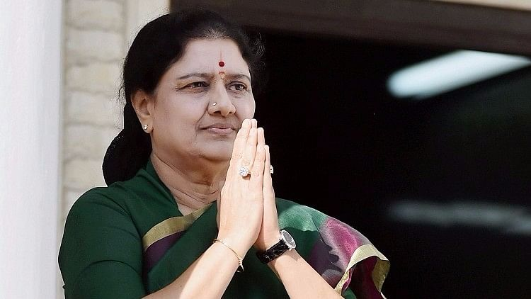 VK Sasikala Natrajan is currently serving her sentence in a Bengaluru prison after her conviction in the disproportionate assets case.