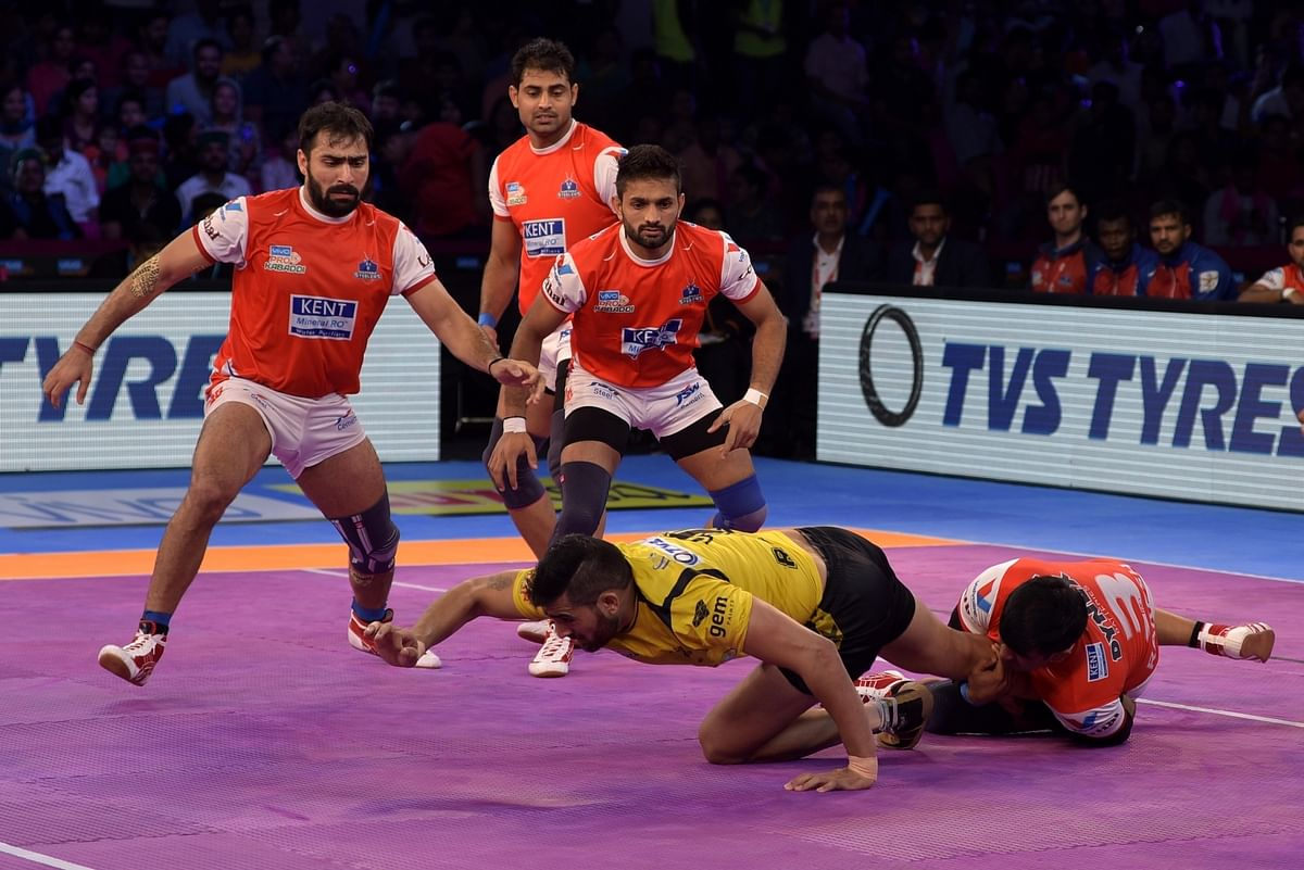 PKL: Haryana Steelers Edge Out Telugu Titans in Thrilling Contest