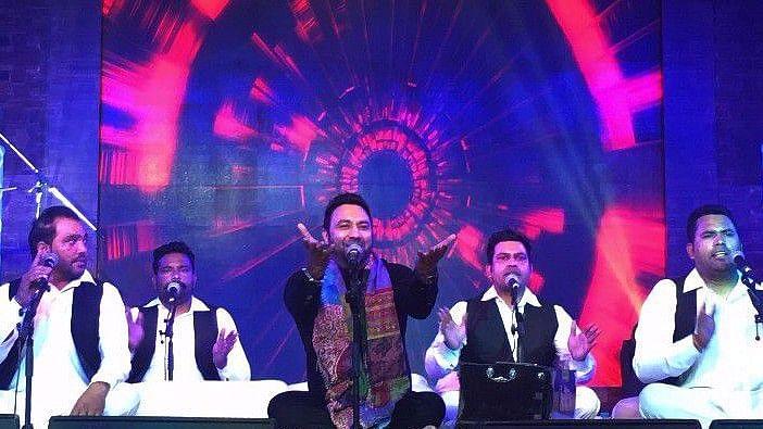 Lakhwinder Wadali With His Group During '<i>Sufi Samaa</i>'