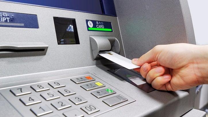 Representative image of an ATM insert card  slot.