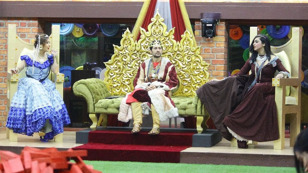 A moment from <i>Bigg Boss</i>.