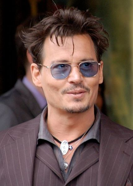 No, blue-tinted glasses don't help. Not even when you are Johnny Depp!