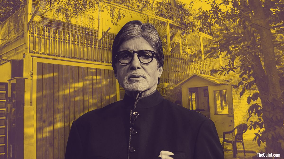 On Amitabh Bachchan's birthday, Gulmohar Park residents recall days spent at Sopaan, where the Bachchans used to live.