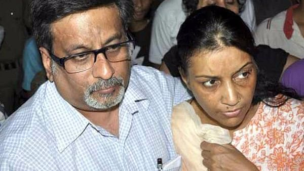 """The Talwars were acquitted by the Allahabad High Court in the double murders of Aarushi and Hemraj. (Photo Courtesy: <a href=""""https://www.oneindia.com/img/2013/11/26-rajesh-talwar-and-nupur-talwar-600.jpg"""">OneIndia</a>)"""