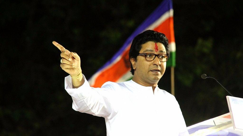 MNS leader Raj Thackeray.