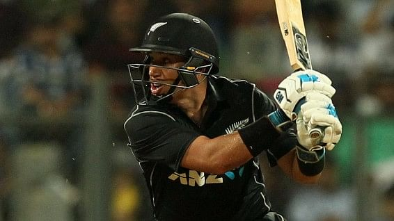Ross Taylor in action.