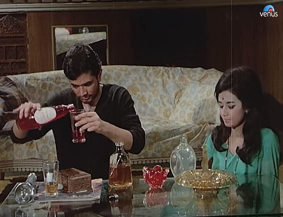 How to get away with murder featuring whisky and Rooh Afza.