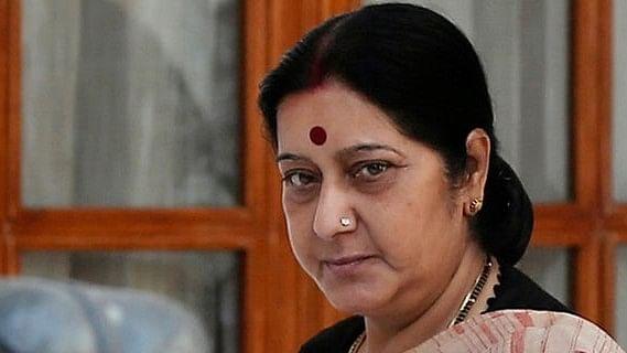 File Picture Of Sushma Swaraj
