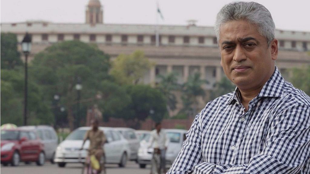 File photo of Rajdeep Sardesai.