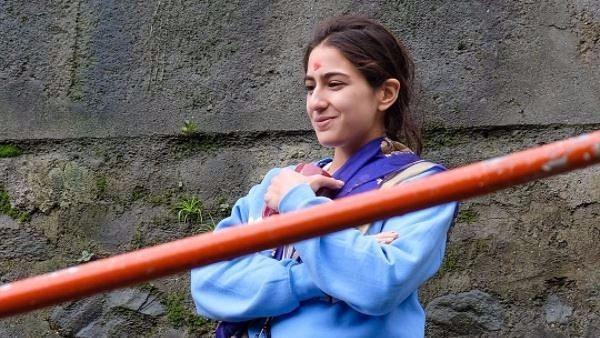 Sara Ali Khan in Abhishek Kapoor's 'Kedarnath'.
