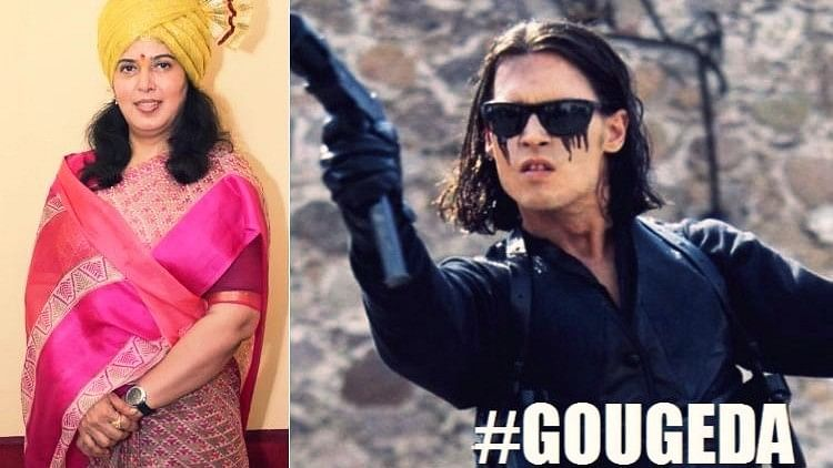 Kerala responds to BJP leader's threat with #GougeDa.