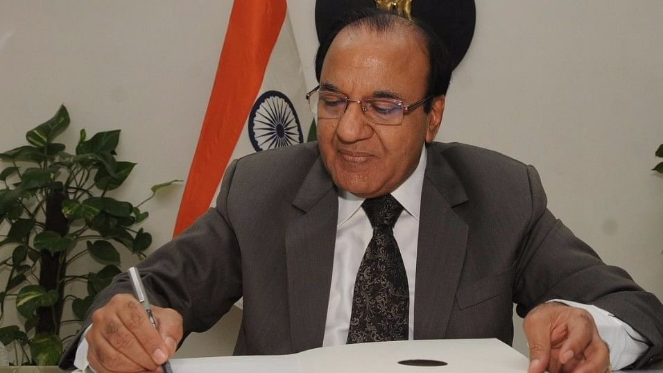 File photo of Chief Election Commissioner Achal Kumar Joti.