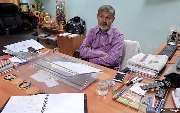 Vyas ji, Vice Chairman of Bihar State Disaster Management Authority (BSDMA)