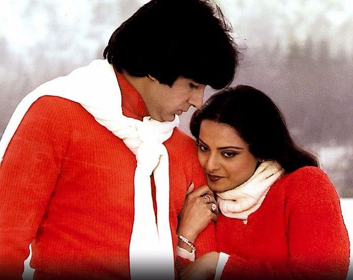 Amitabh Bachchan and Rekha in <i>Silsila.</i>