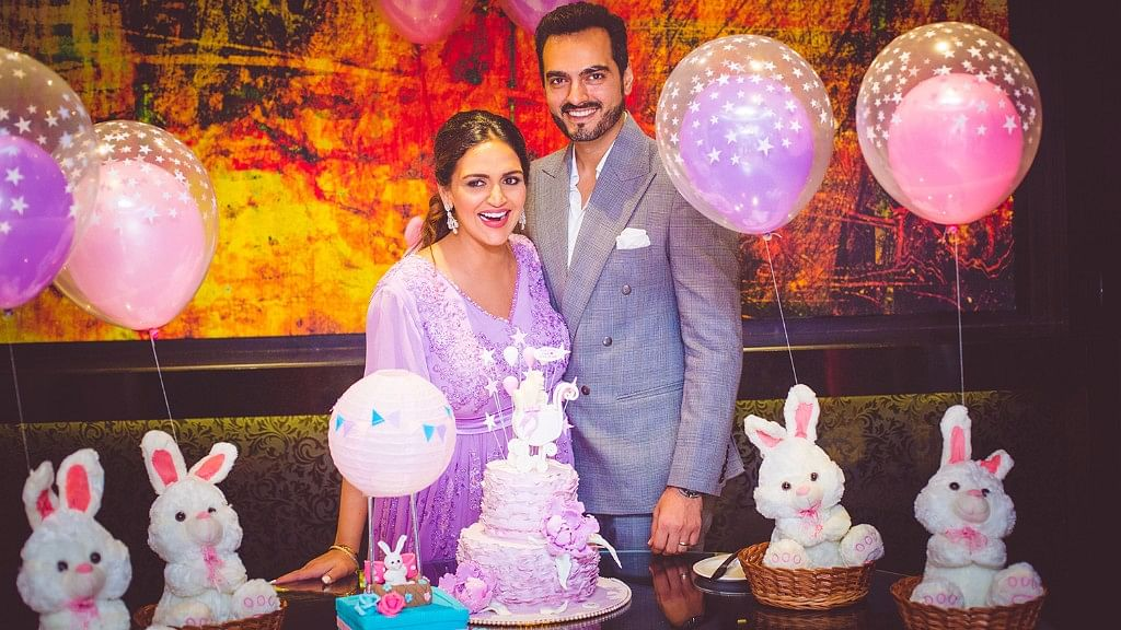 Esha Deol and husband, Bharat Takhtani welcome their first child.