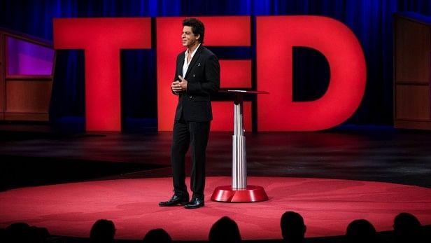 SRK at his TED talk.