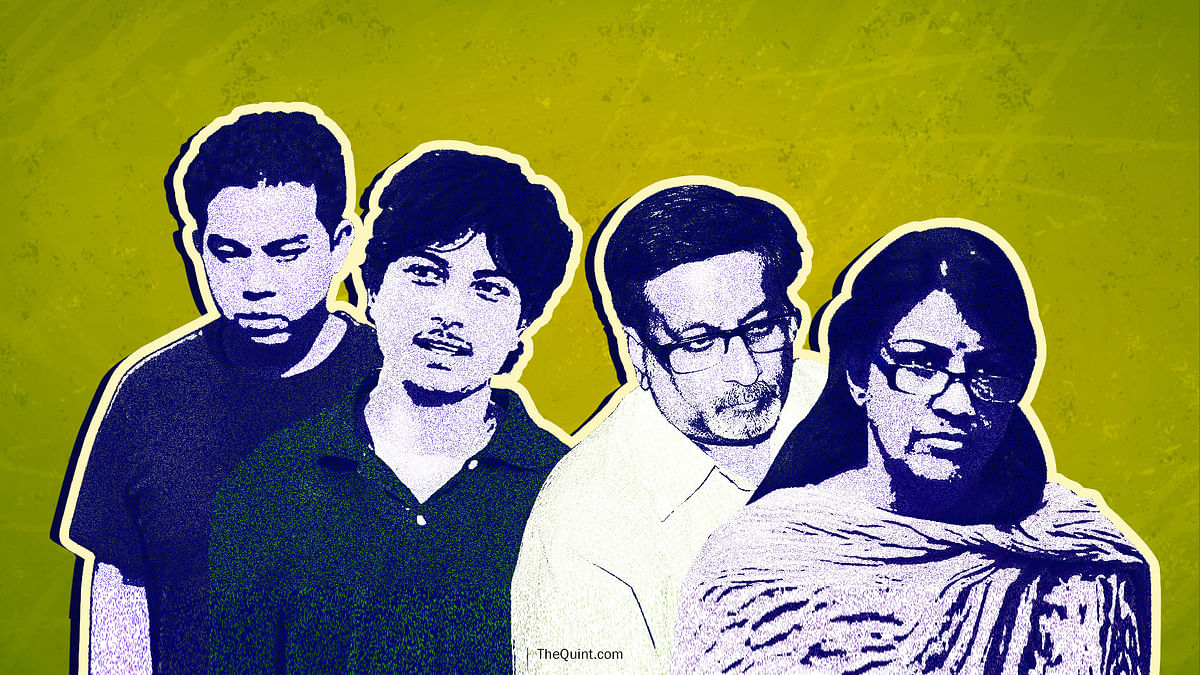 The main suspects of the Aarushi murder case. (Photo: <b>The Quint</b>)