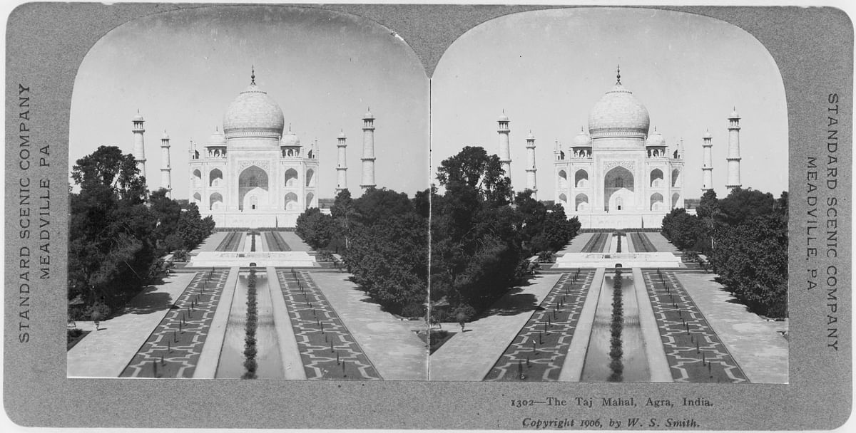 """A 1906 photograph of Taj Mahal by WS Smith. (Photo Courtesy: <a href=""""http://bit.ly/2hRbwQU"""">Wikipedia Commons</a>)"""