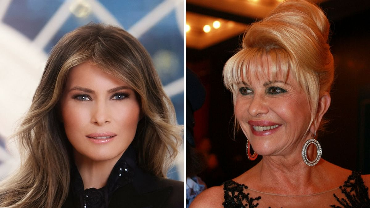 Ivana and Melania Trump Get into First Wife vs First Lady Jibes