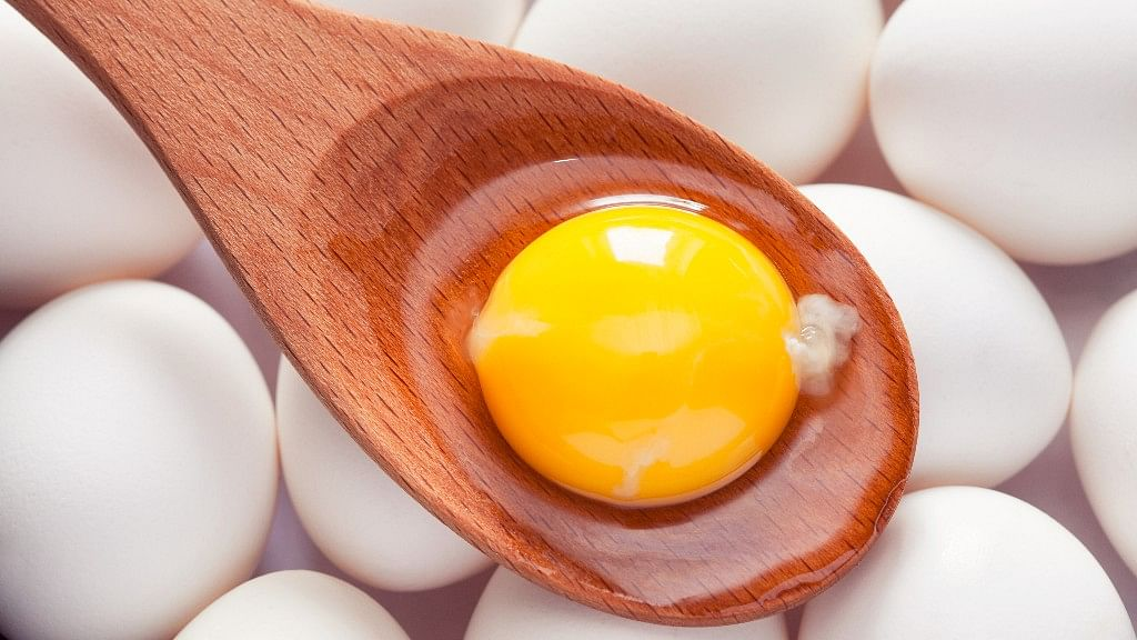 Vitamin D is present in eggs.