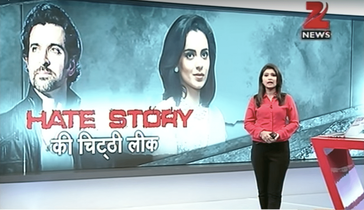 Krrish & Tell: How Indian TV News Covers The Hrithik-Kangana Saga