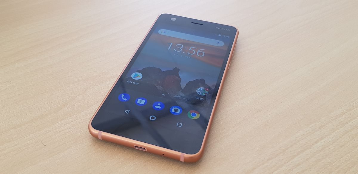The design and finishing quality of the Nokia 2 is similar to that of other phones Nokia Android phones.