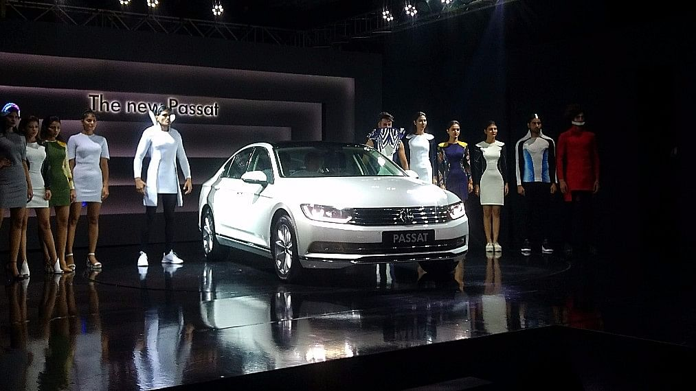The 8th generation Volkswagen Passat comes with a 2-litre diesel engine.