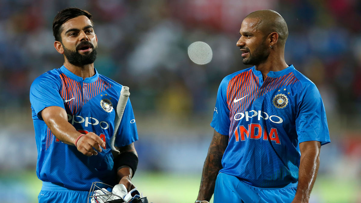 India win first T20 by 9 wickets.