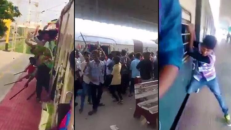 Scenes from two videos uploaded on Facebook by a student named Bharathiraja  on Monday got many people concerned on social media.