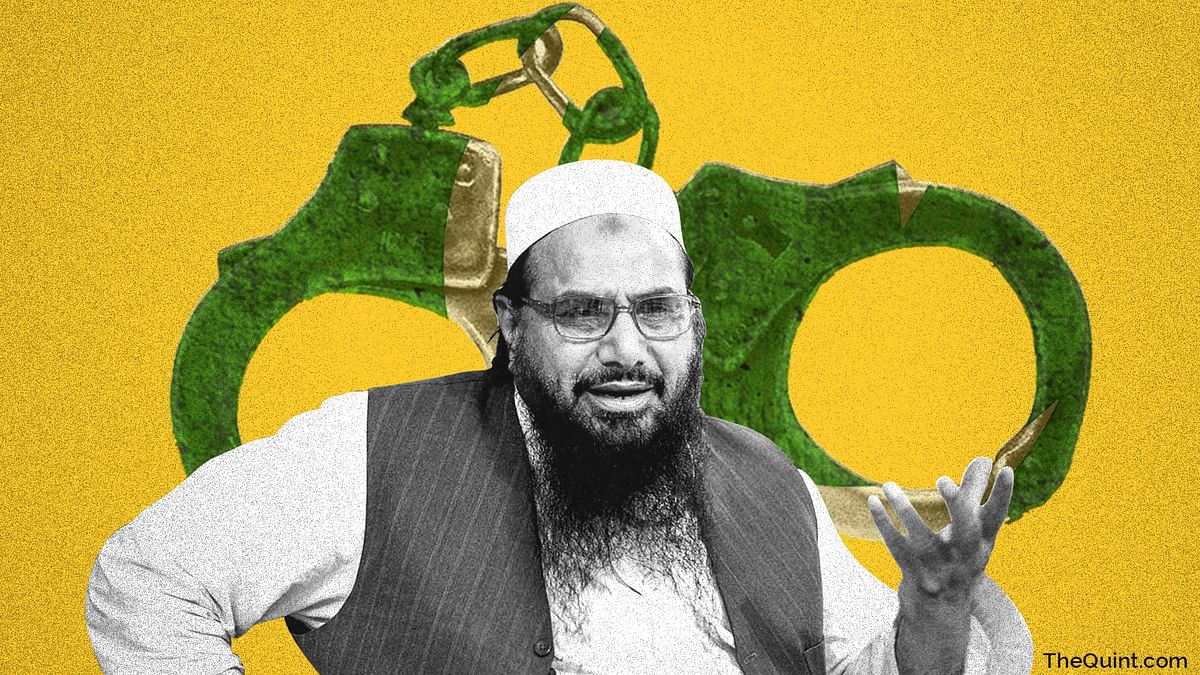 On 14 October, the Pakistan government informed a Federal Judicial Review Board that 'no terrorism charges are pending' against Saeed.