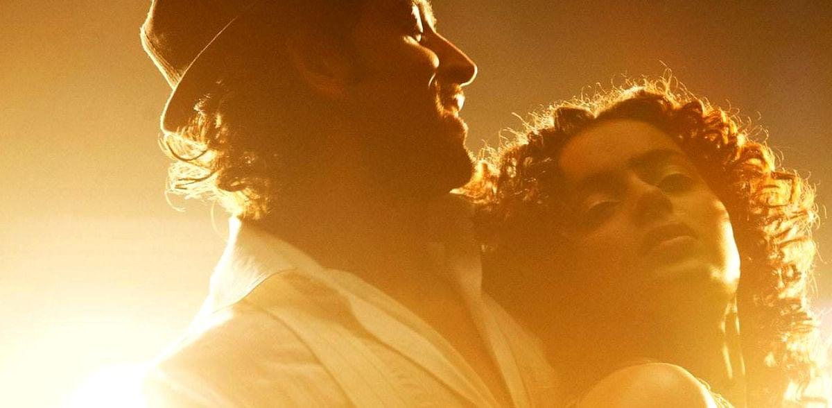 Hrithik Roshan and Kangana Ranaut in a scene from <i>Kites.</i>&nbsp;