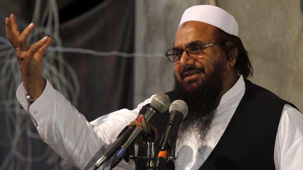 Hardliner Hafiz Muhammad Saeed, chief of the Jamat-ud-Dawa religious party.