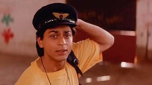Shah Rukh Khan in a scene from <i>Kabhi Haan Kabhi Naa. </i>