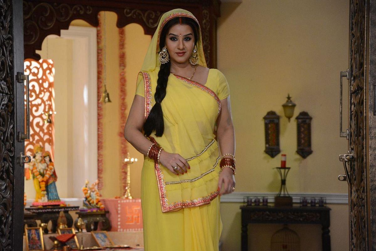 Shilpa Shinde in&nbsp;<i>Bhabhiji Ghar Par Hai.</i>