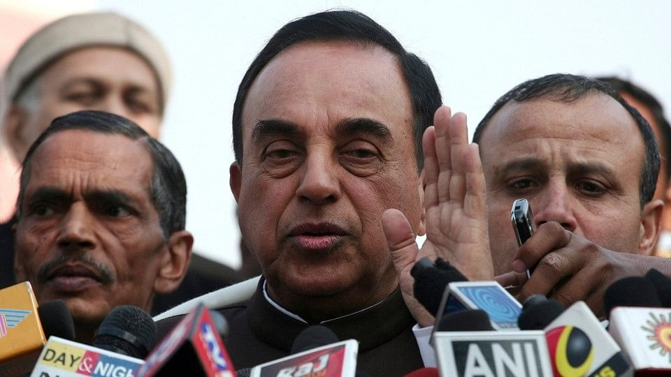 Goddess Lakshmi on Notes May Improve Condition of Rupee: Swamy