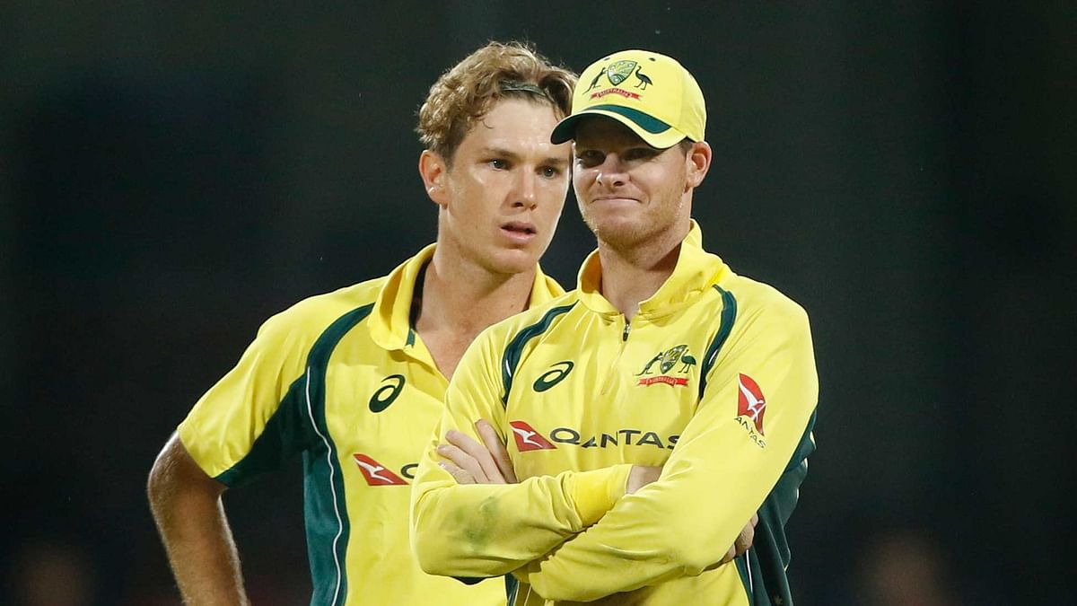 Steve Smith during the five match ODI series against India.