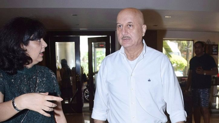 Anupam Kher asks FTII students to let him do his job and then judge.