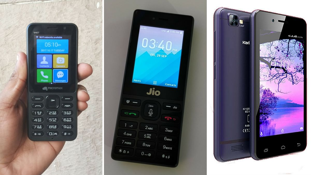 Reliance JioPhone has competition now. <i>(Photo: <b>The Quint</b>)</i>