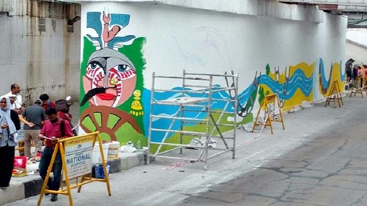 #GoodNews: Caring For Public Spaces, One Painted Wall At a Time