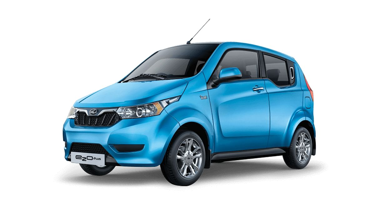 The Mahindra e2O is the largest-selling electric car in India today.