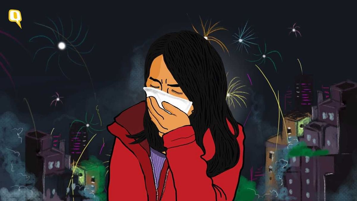 On Diwali, mom is confined to her room with the doors and windows locked, but the smoke is relentless.