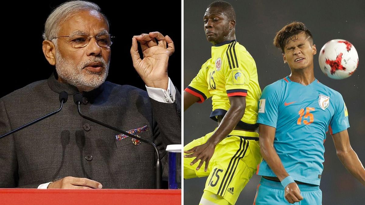 Indian Team Didn't Win the U-17 World Cup, But Won Hearts: PM Modi