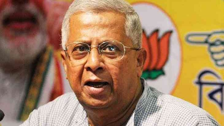 Former West Bengal BJP chief and current Governor of Tripura, Tathagata Roy.