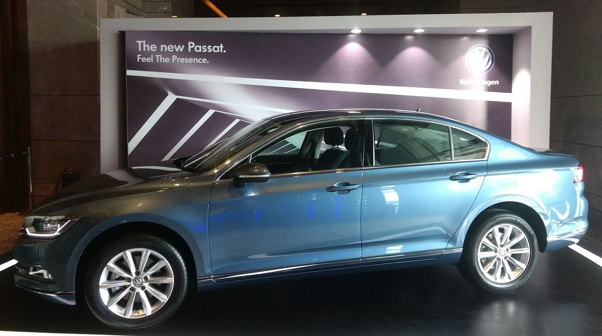 The Passat sports a long wheelbase of 2,791 mm (80 mm more than the previous generation car).