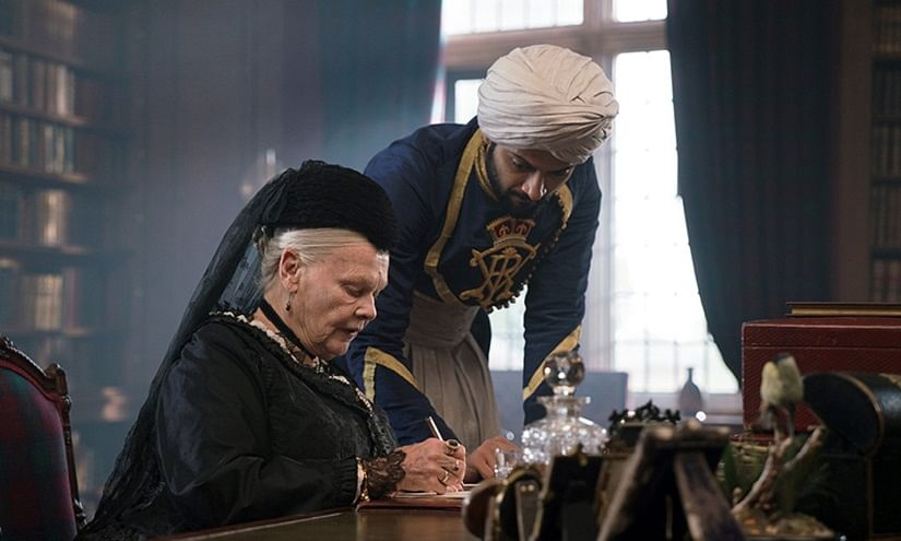 Judi Dench and Ali Fazal in a scene from <i>Victoria &amp; Abdul. </i>