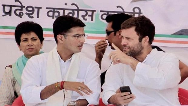 File photo of Congress vice president Rahul Gandhi and party leader Sachin Pilot. (Photo: PTI)