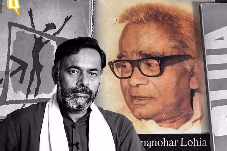 Yogendra Yadav on Ram Manohar Lohia's birth anniversary.